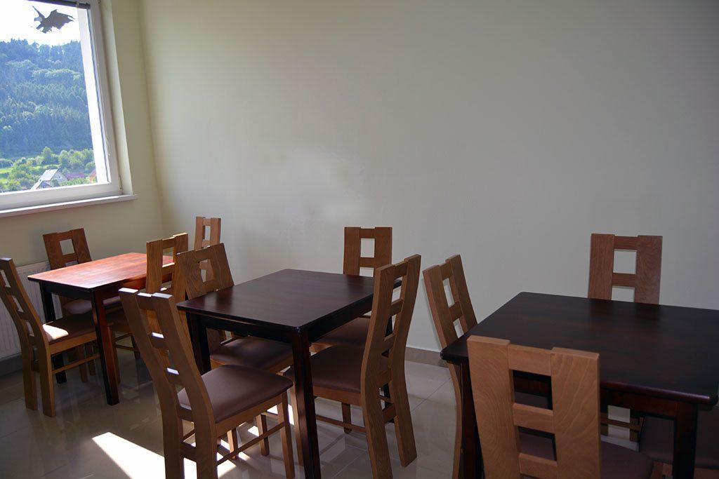 Jedáleň v kuchyni